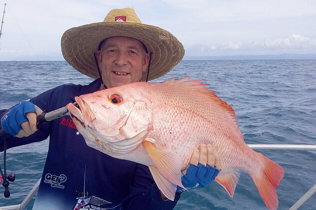 Nannygai caught off-shore from the Daintree River